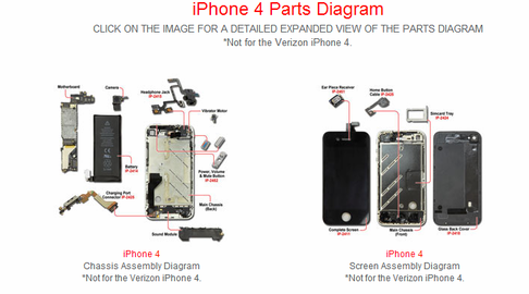 Att Iphone 4s Parts Diagram Wiring Library